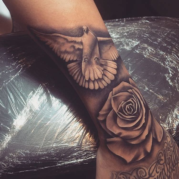 110+ Dove Tattoo Designs, Ideas | Design Trends