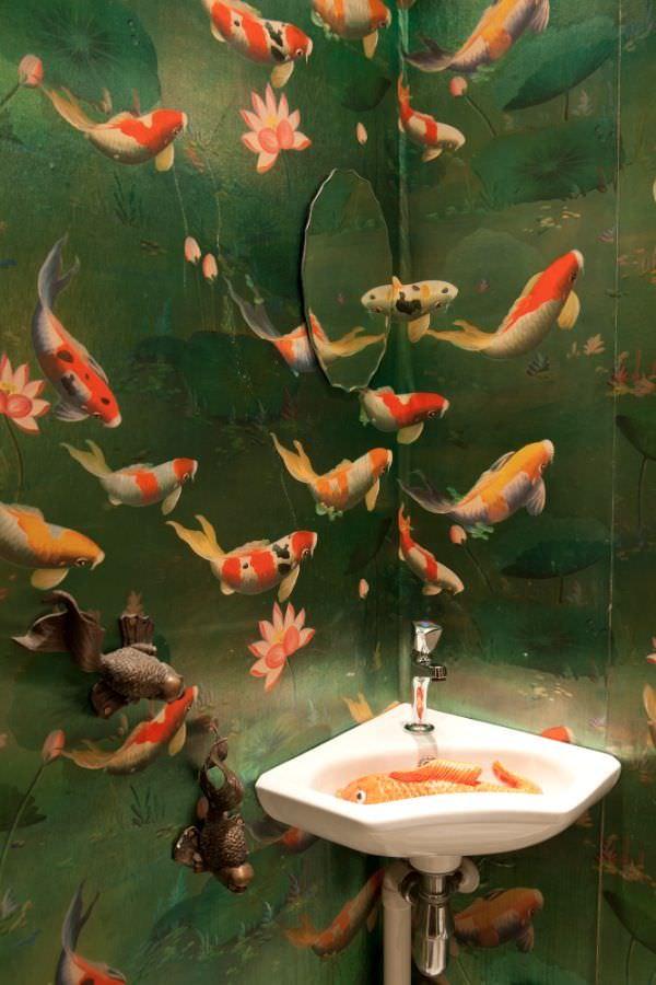 31 Bathroom Wallpaper Designs Bathroom Designs Design Trends
