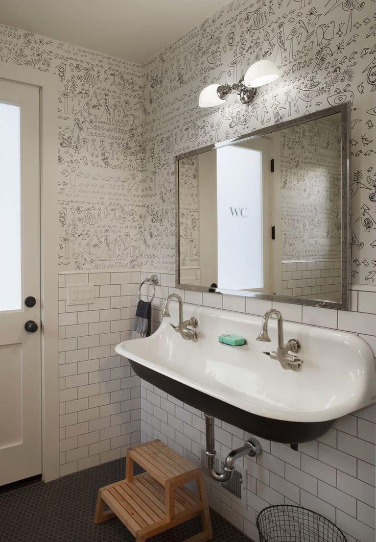 31 Bathroom Wallpaper Designs Bathroom Designs Design