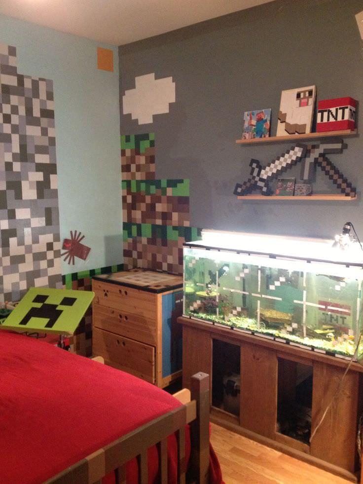 28+ Minecraft Bedroom Designs, Decorating Ideas