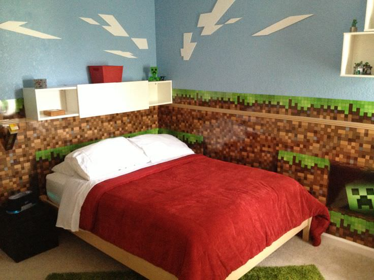 28 minecraft bedroom designs decorating ideas design for Bedroom ideas on minecraft