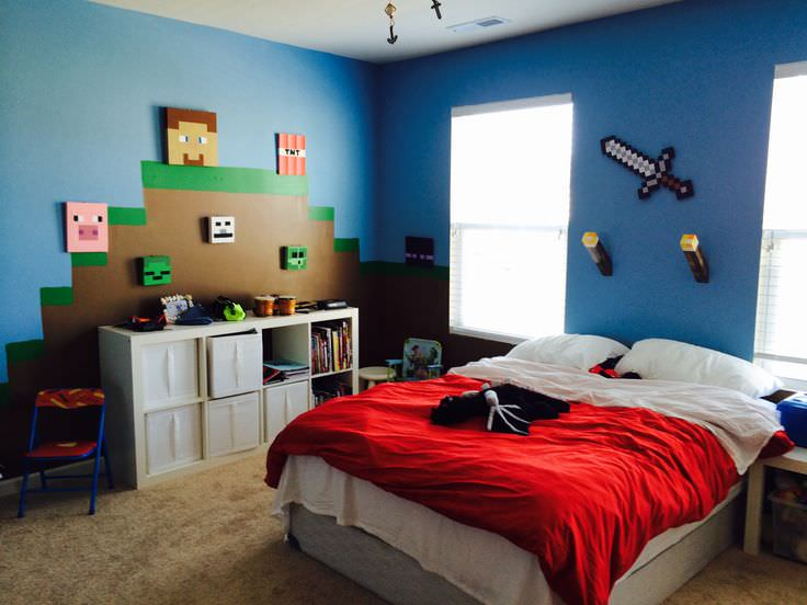 28+ Minecraft Bedroom Designs, Decorating Ideas | Design ...