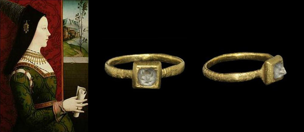 Mary of Burgundy and her engagement ring