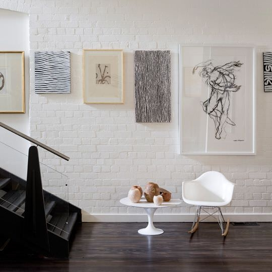 Wall Decor The Brick : White brick wall interior designs home