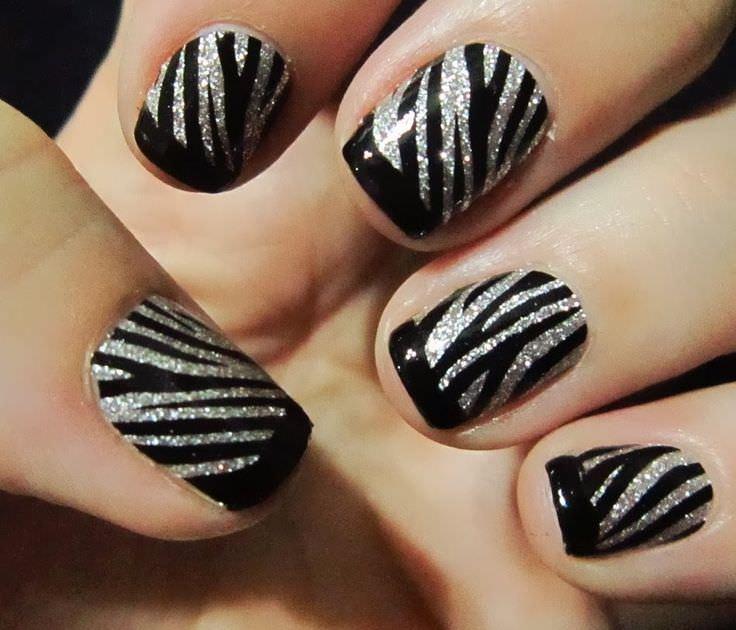 Zebra print nail art design nail art designs zebra print zebra print nail designs for you view images prinsesfo Image collections