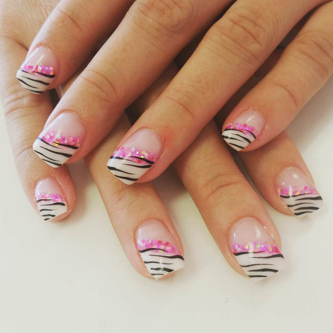 Zebra Nail Designs Pictures