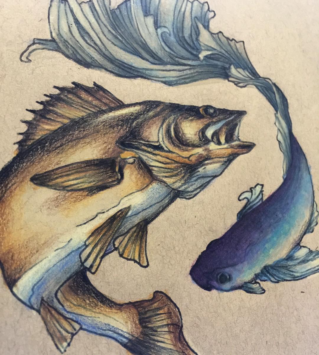 32 koi fish tattoo designs tattoo designs design trends for Koi fish pisces