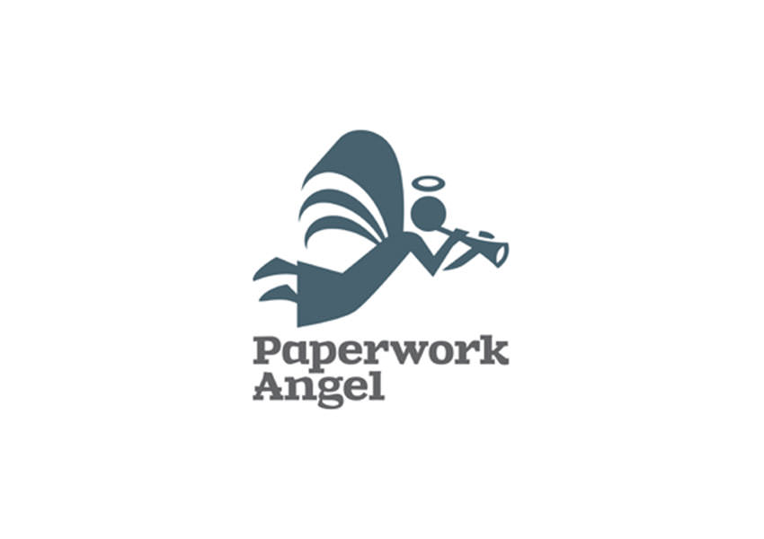 35 creative angel logo designs design trends Angel logo design