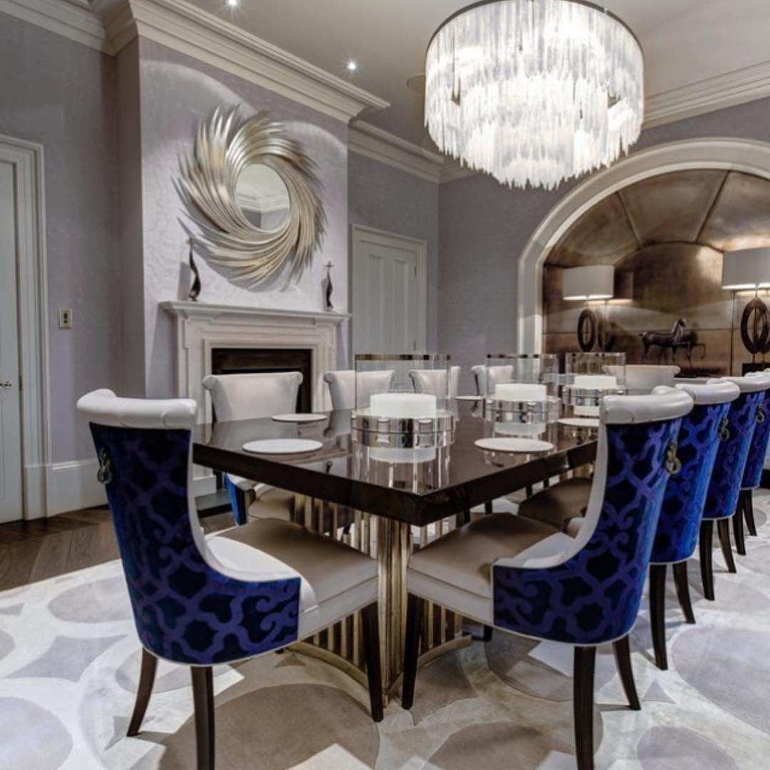 Luxury dining room gallery for Luxury dining room design