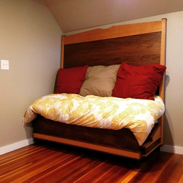 11 Hideaway Bed Designs Ideas Plans Design Trends