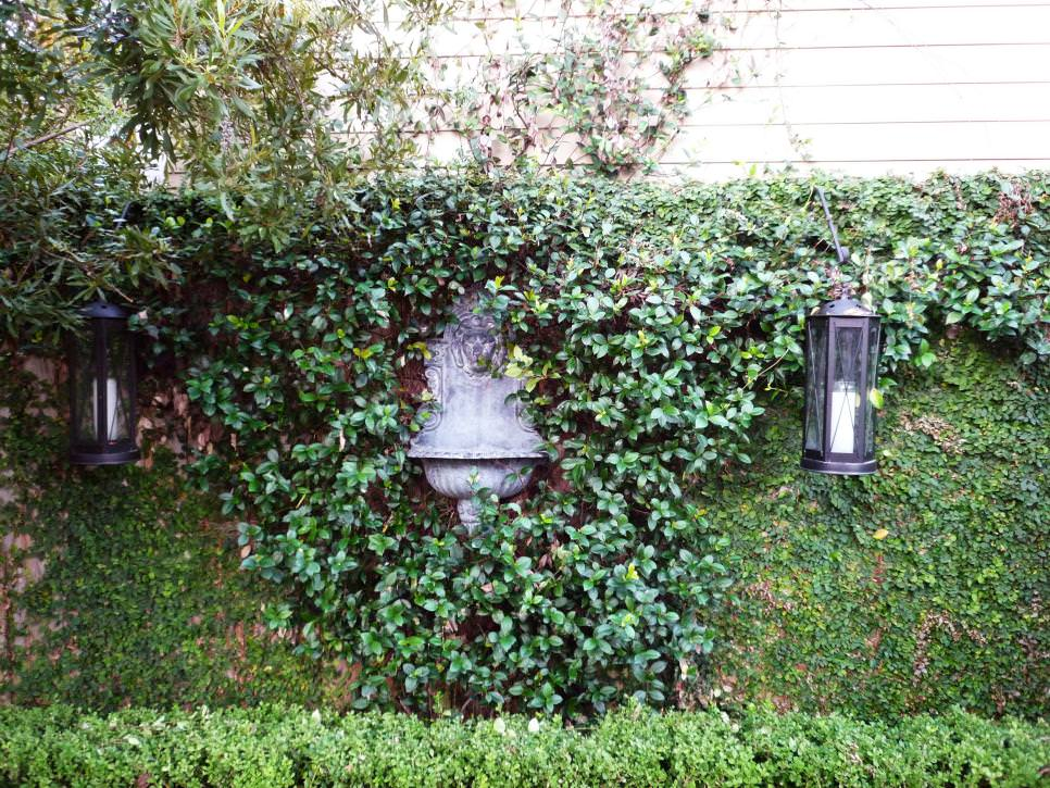 European Garden Design Ideas : Brick wall garden designs decorating ideas design trends