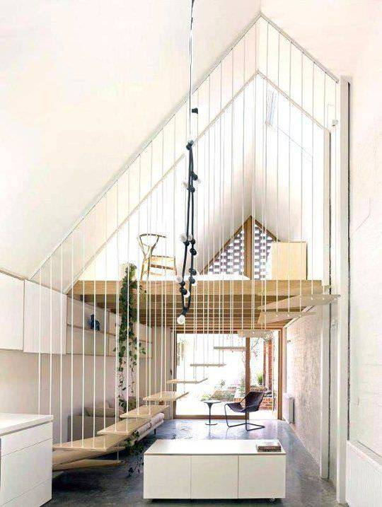 Staircase designs for small spaces living room designs design trends - Staircase for small space style ...