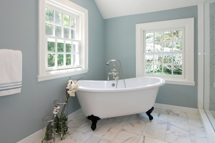 20 bathroom paint designs decorating ideas design trends for Bathroom finishes trends