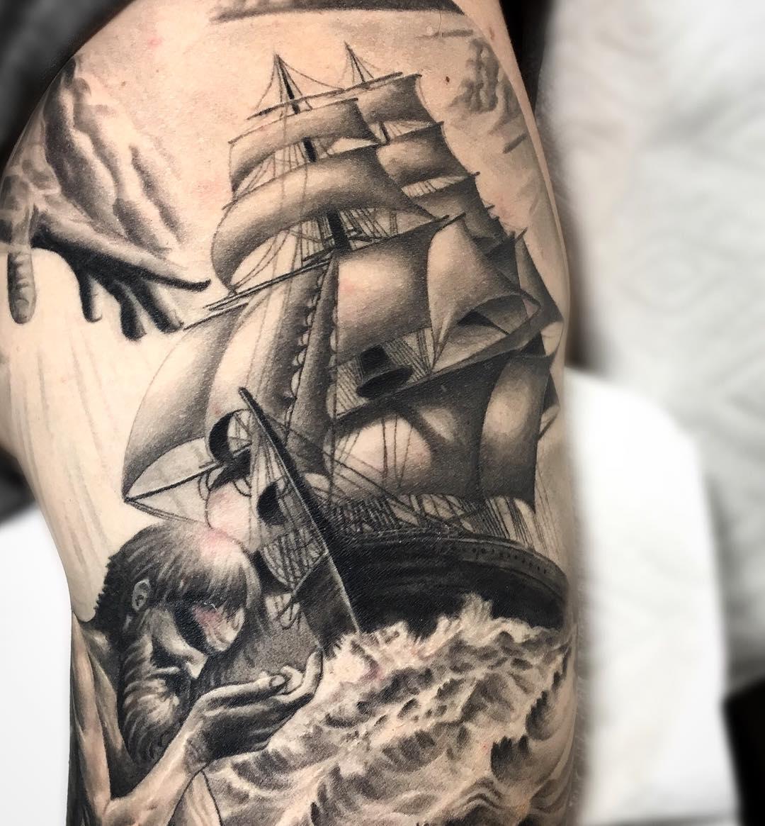 18 arm sleeve tattoos designs ideas design trends. Black Bedroom Furniture Sets. Home Design Ideas