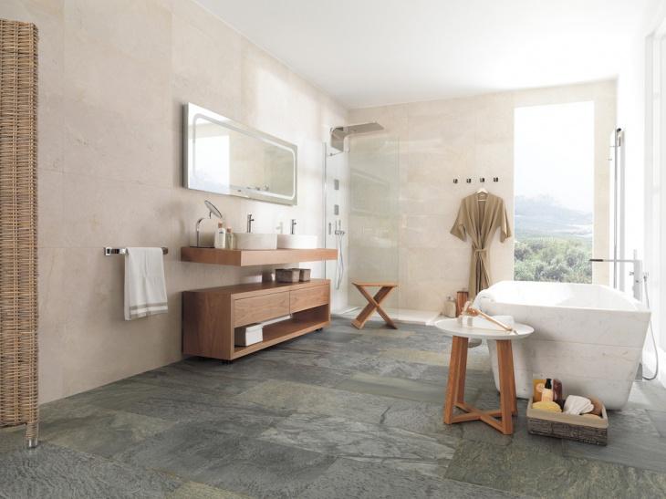 Grey bathroom color ideas - 20 Spa Bathroom Designs Decorating Ideas Design Trends
