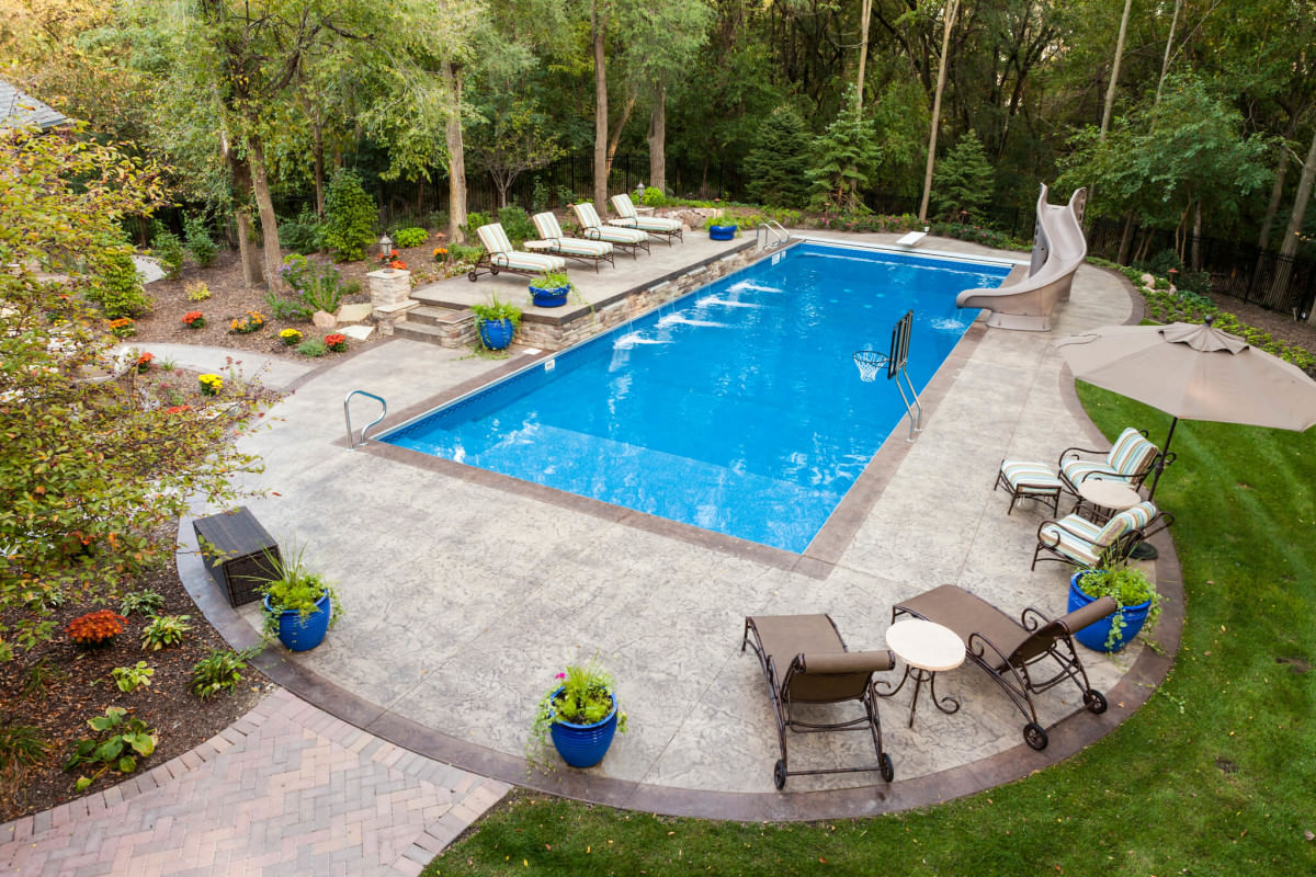 Best swimming pool designs outdoor designs design trends - Design of swimming pool ...