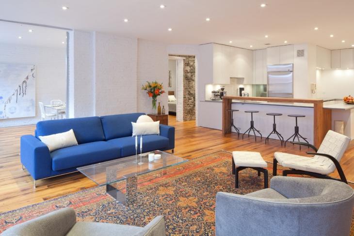 Interior Living Room Designs Wooden Laminate Flooring In Modern Home