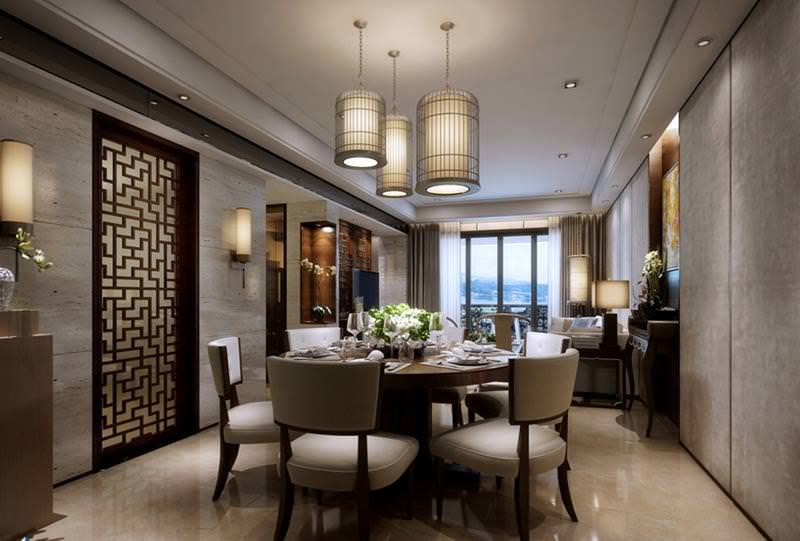 18 luxury dining room designs decorating ideas design for Design dinner room