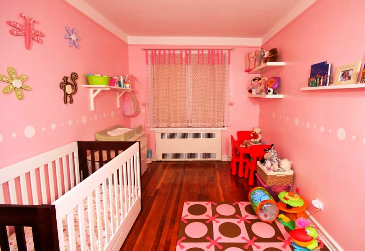 Girl Decorating Nursery Baby Room