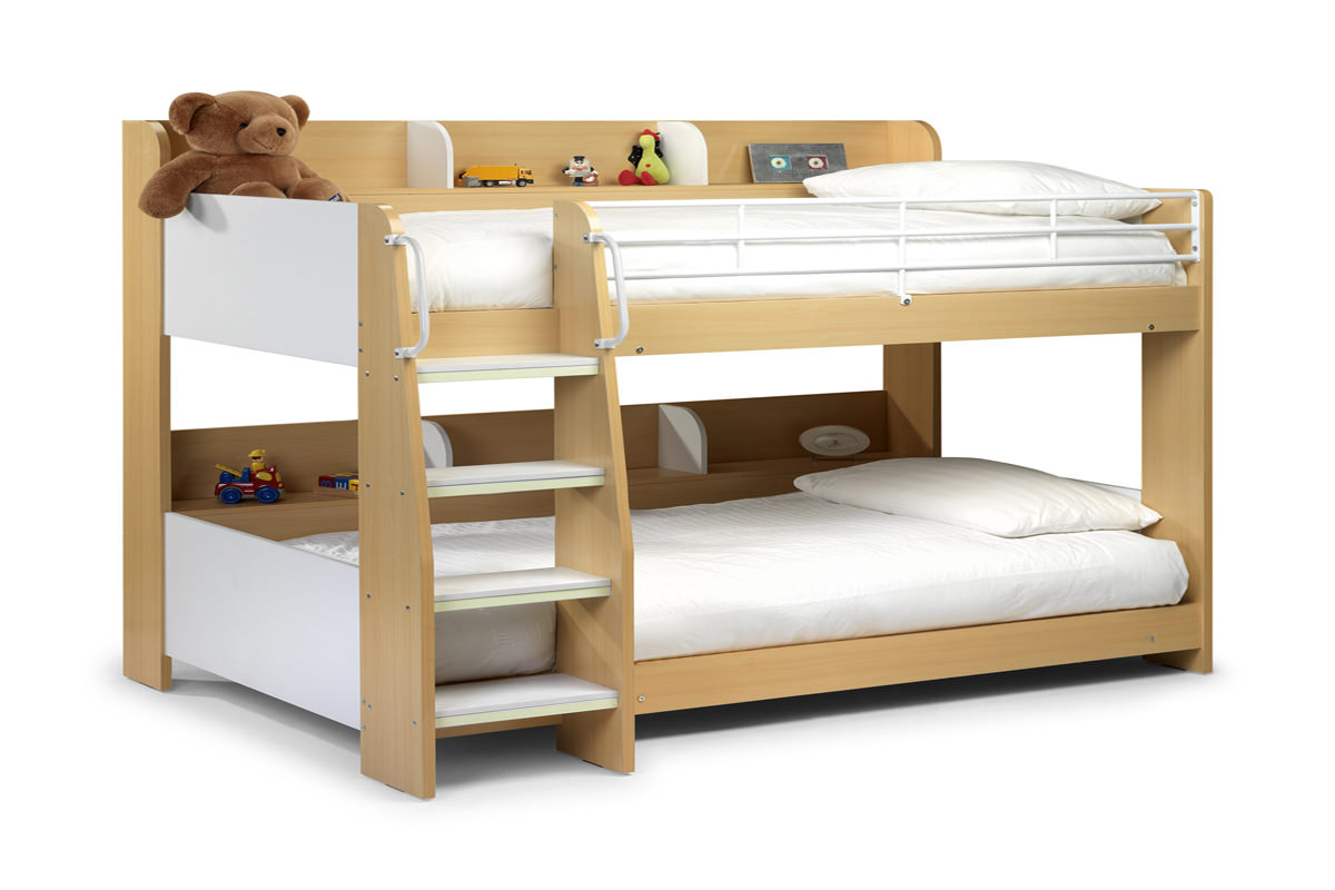 18 bunk bed bedroom designs decorating ideas design trends for Bunk bed ideas