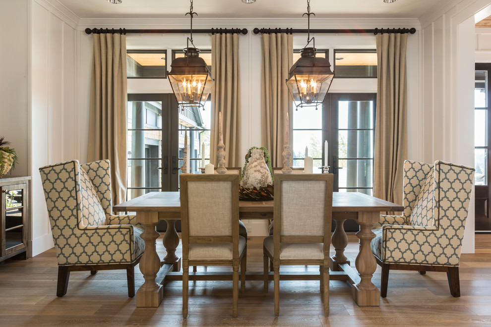 23 dazzling dining room designs decorating ideas for Design dinner room