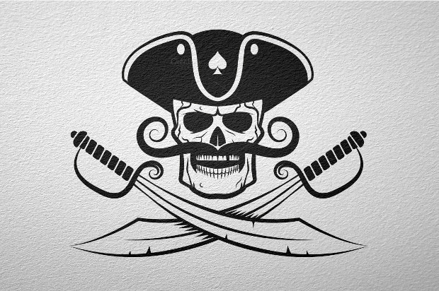 Pirates Logo Skull Pirate Logo Des...