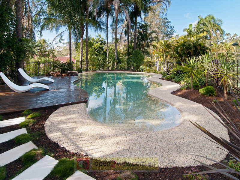30 pebble garden designs decorating ideas design trends for Garden design australia