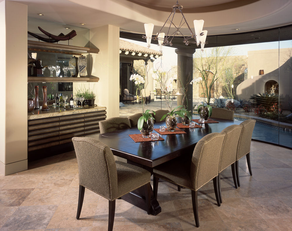 30 formal dining room designs dining room designs for Traditional dining room design