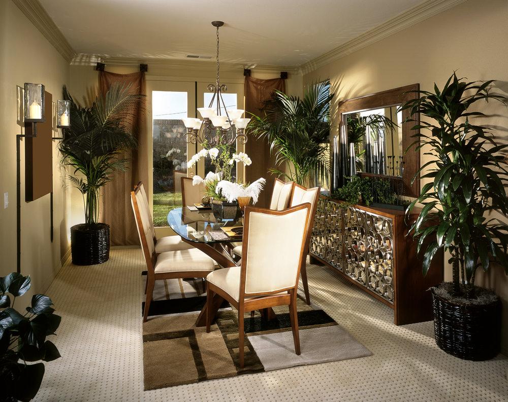 30 formal dining room designs dining room designs for Small formal dining room