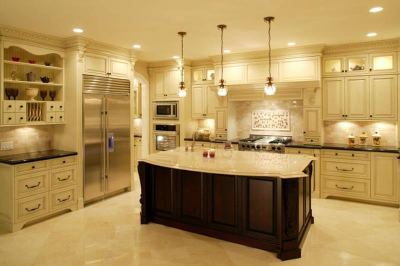 19 luxury kitchen designs decorating ideas design trends for Luxury kitchen