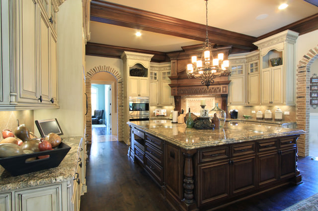 19 luxury kitchen designs decorating ideas design trends for Luxury kitchen layout