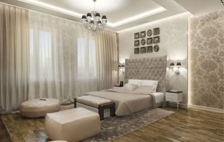 29 elegant master bedroom designs decorating ideas for Modern classic bedroom designs