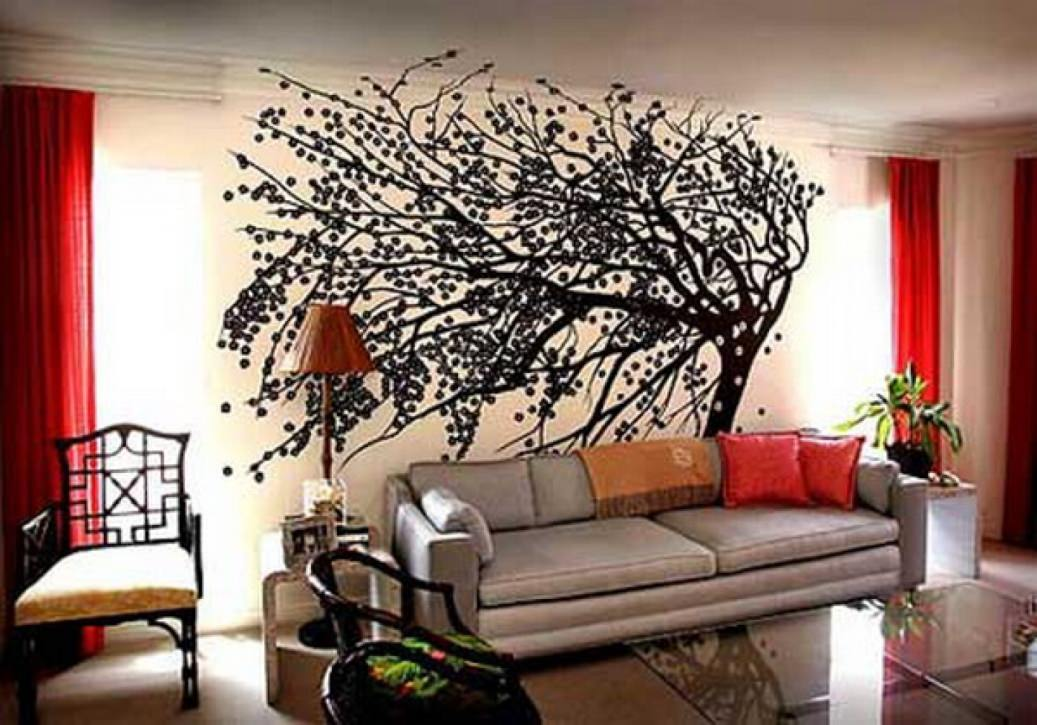 30 living room wall designs living room designs for Big living room decorating ideas