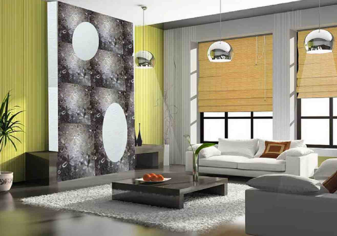 Wall Designs For Sitting Room : Living room wall designs decor ideas design trends