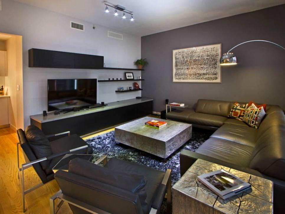 25 vintage living room living room designs designtrends for Metallic living room ideas