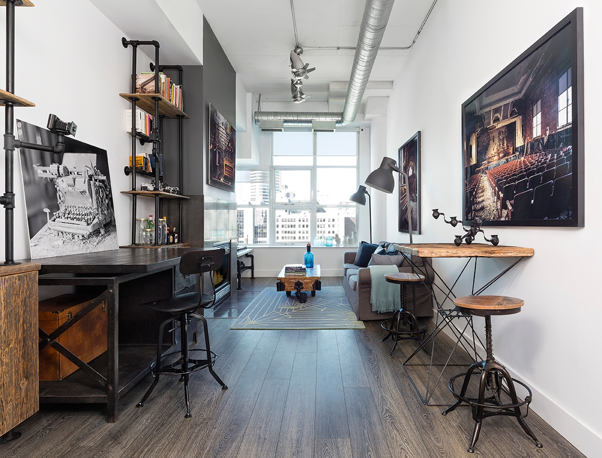 29 industrial home office designs decorating ideas for Industrial home design plans