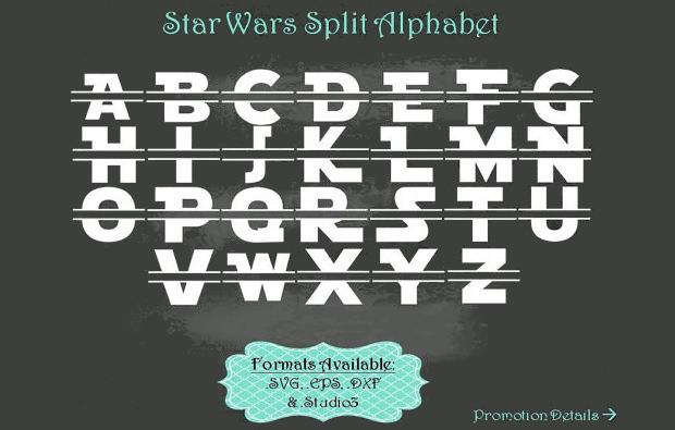 14  star wars fonts