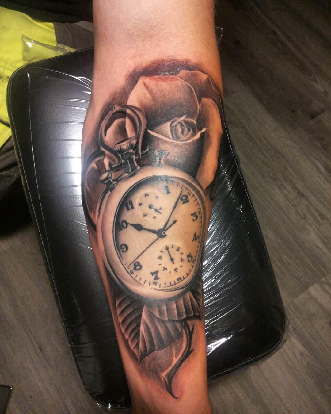 38+ Watch Tattoo Designs, Ideas | Design Trends