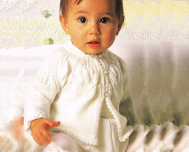 Vintage Knitting Patterns Baby 117