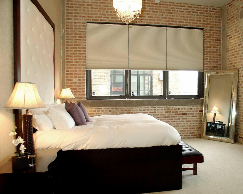 Brick Wall Designs Decor Ideas For Bedroom Design