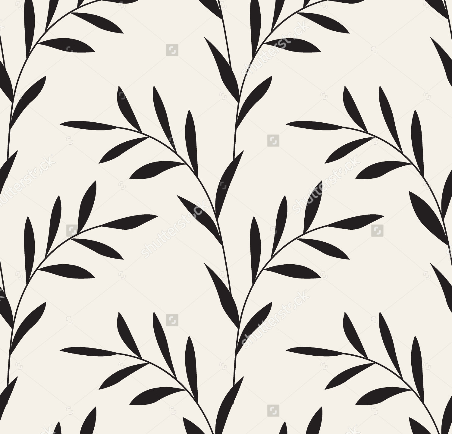Black And White Leaf Design | www.imgkid.com - The Image ...