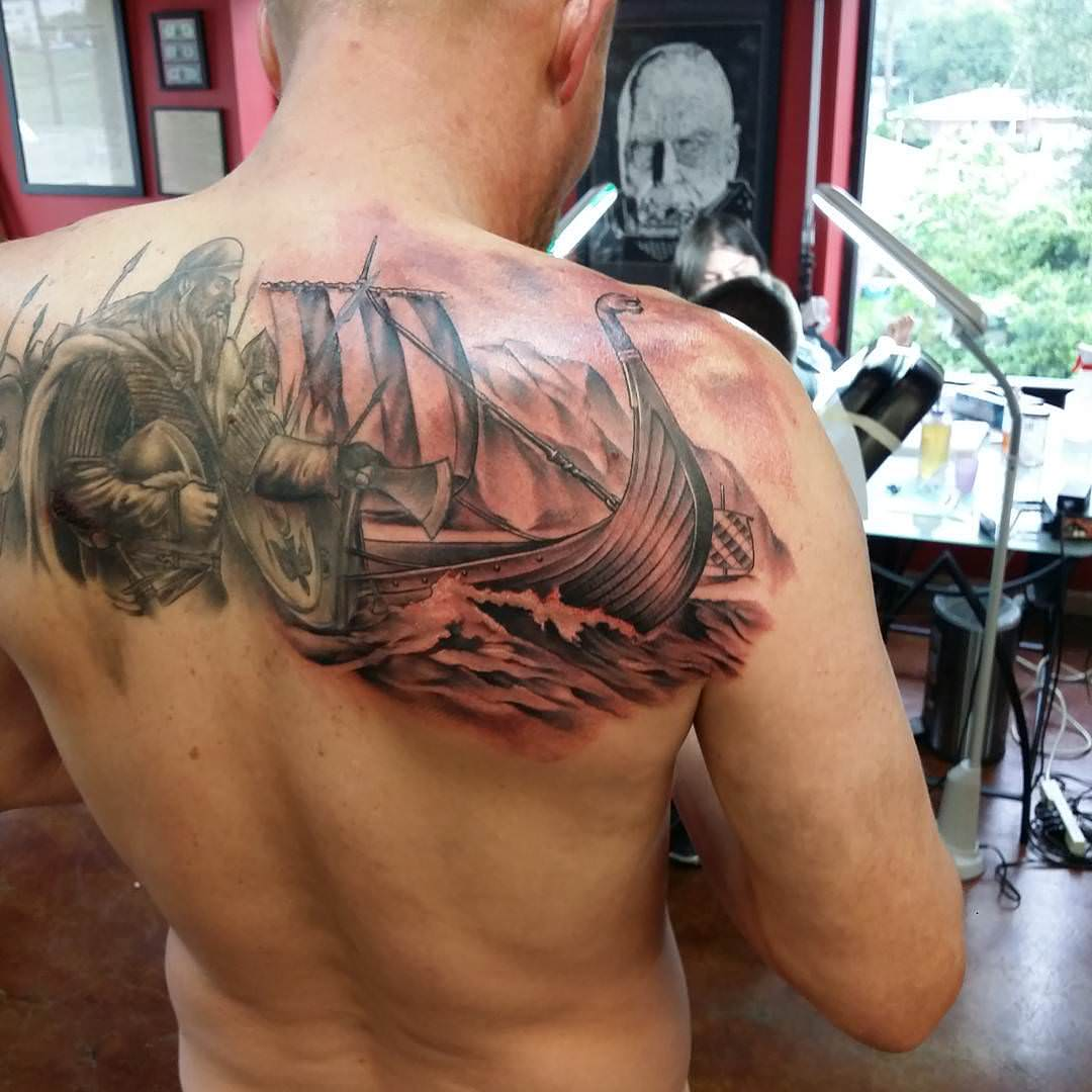 Tattoo Designs Likewise 25 Viking Ideas Design Trends
