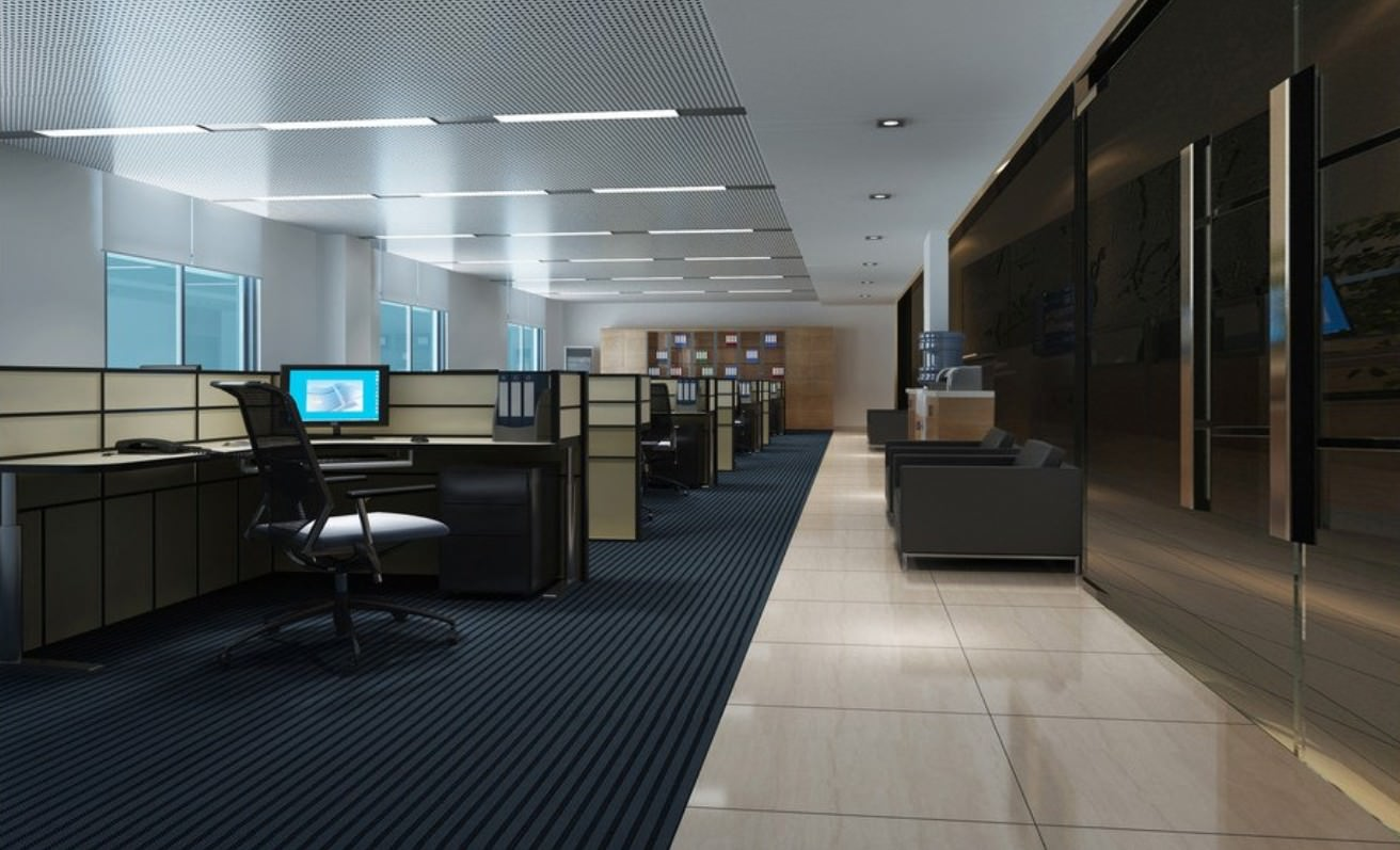 19 minimalist office designs decorating ideas design for Modern it office design