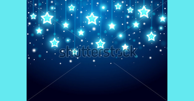 Permalink to Christmas Star Background 2016