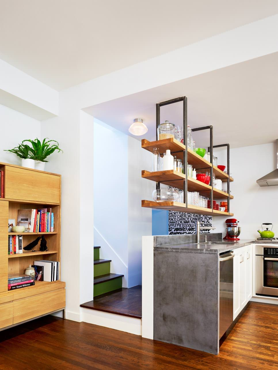 Clever Kitchen Ideas Open Shelves