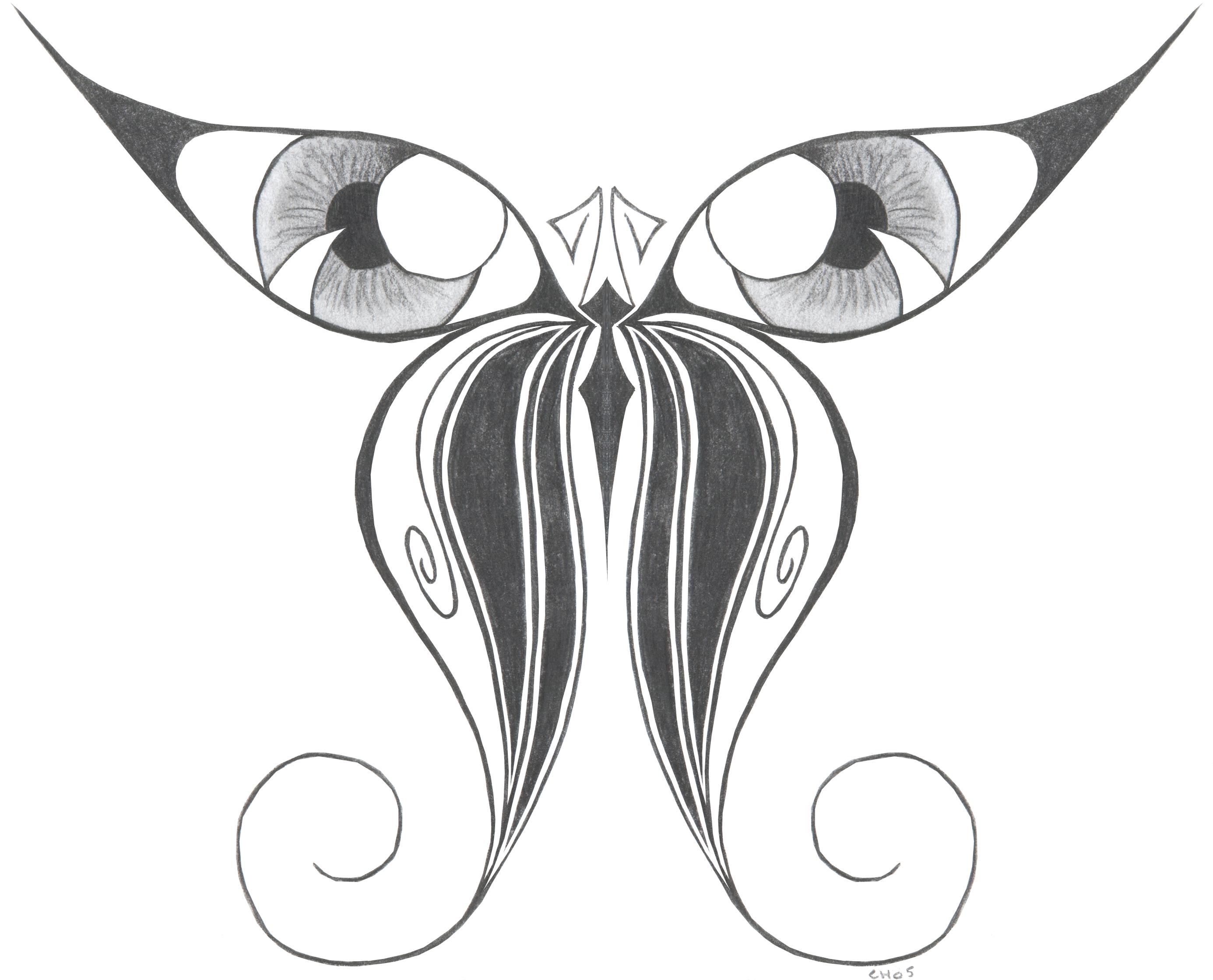 Line Art Design Trend : Butterfly drawings art ideas design trends