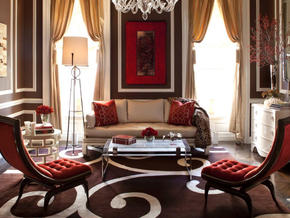 25 Red Living Room Designs Decorating Ideas Design Trends