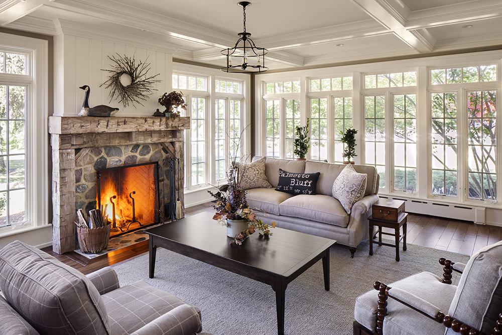 15+ Living Room Window Designs, Decorating Ideas