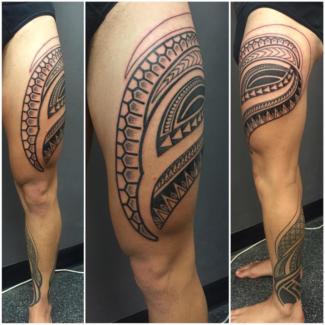 27+ Leg Sleeve Tattoo Designs, Ideas