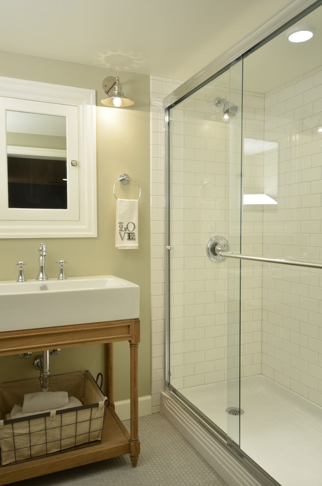 Bathtub In Shower Walk In Modern